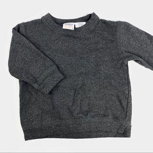 Simply basic grey lightweight sweater